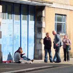 homeless people truro